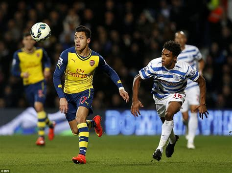 arsenal qpr qpr 1 2 arsenal olivier giroud and alexis sanchez strike