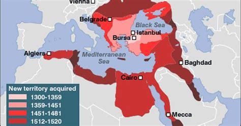 1299 ottoman empire map of the ottoman empire a muslim empire that lasted