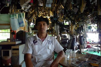 Mesin Cuci Rongsok cermin kecil barang rongsokan bernilai ratusan juta
