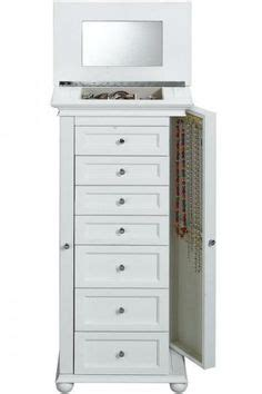 Hton Bay Jewelry Armoire White by Nathan Direct J1016arm L W Muscat 8 Drawer Jewelry Armoire