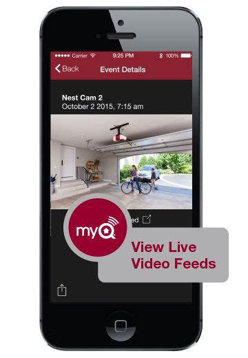 Liftmaster Partnership With Nest Has Expanded To Include Myq Garage Door Opener App