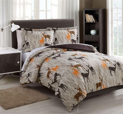 deer comforter full size comforter sets bed bath and beyond