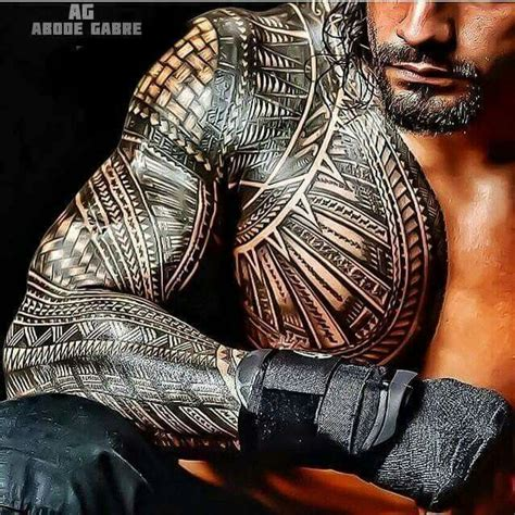 roman reigns tattoo best 25 tribal tattoos ideas on