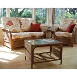 barcelona cane conservatory furniture set internet gardener