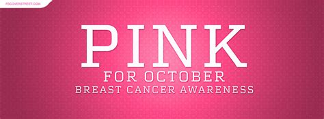 October Is Breast Cancer Awareness Month 2 2 by Breast Cancer Covers Fbcoverstreet