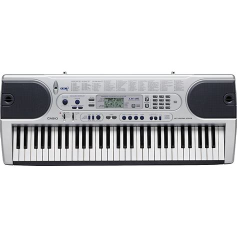 casio 61 key full size lighted keyboard casio lk 45 lighted keyboard music123