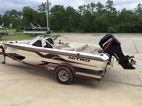 new fish and ski boats for sale used ski and fish nitro boats for sale boats
