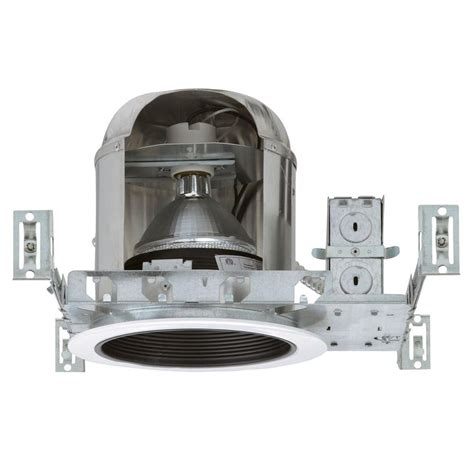 ic rated recessed lighting nicor 6 in recessed ic rated airtight housing 17002a