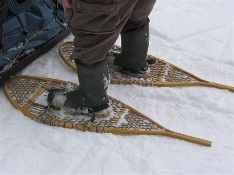 snow shoes getting started with snowshoeing