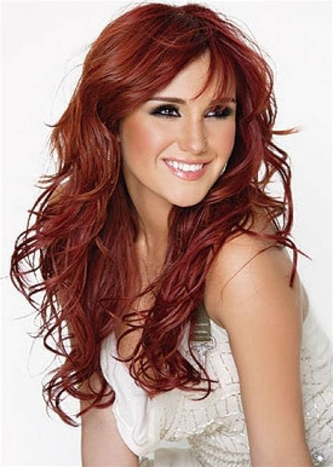 cute hair color ideas for redheads auburn hair color highlights ideas with pictures to see