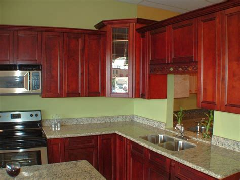 green paint colors for kitchen green wall and red cabinets popular paint colors for kitchen