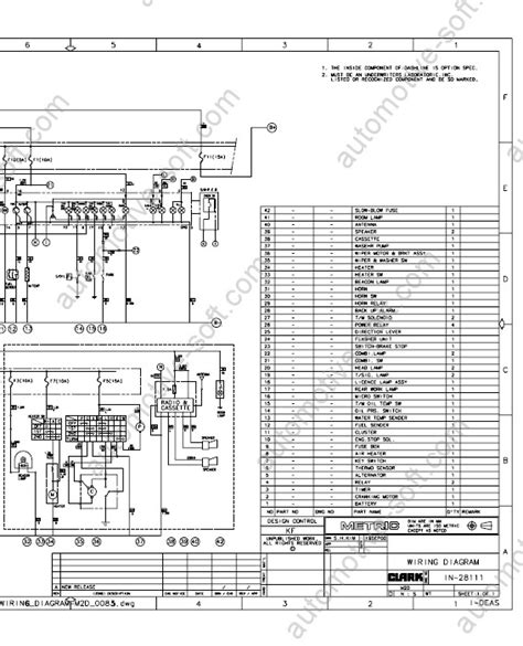 clark forklift wiring diagram clark lift truck wiring diagram wiring auto wiring diagram