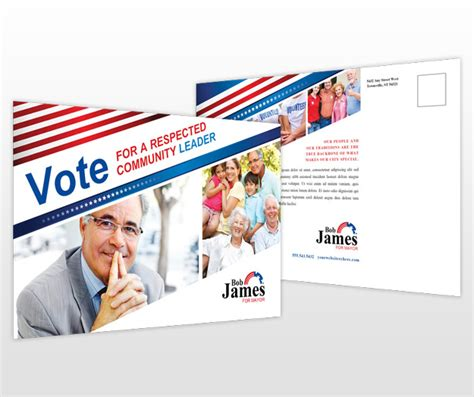 8 Best Photos Of Political Caign Postcard Designs Political Caign Postcard Template Election Postcard Template