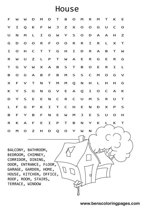 house search free coloring pages of food wordsearch pages