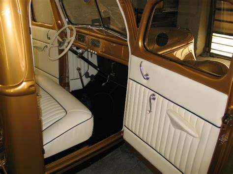 Tuck Interior by George Poteet S 40 Ford