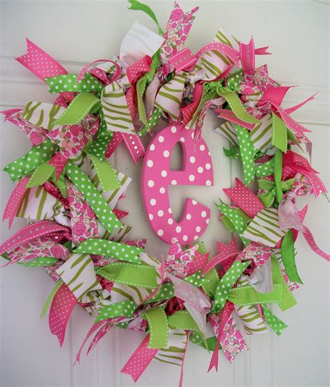 wreath crafts for ribbon wreath craft ideas