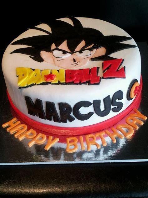dragonball  goku cake birthday ideas   cake birhday cake dragonball  cake