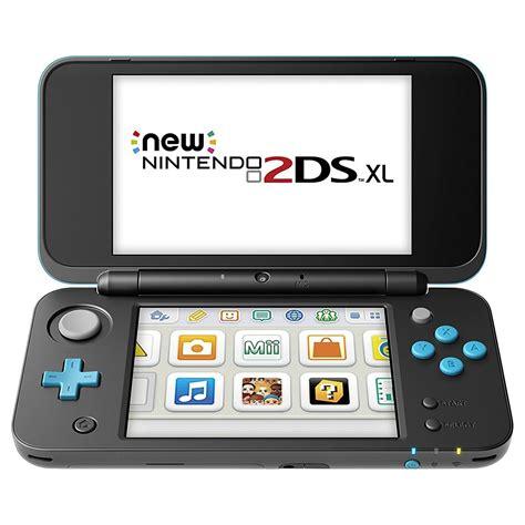 2ds console nintendo new 2ds xl noir turquoise console nintendo