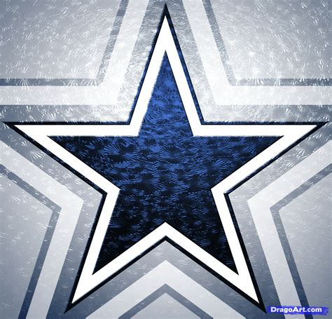 how to draw the dallas cowboys dallas cowboys step by