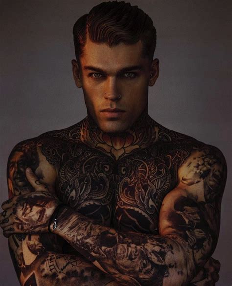hot tattoo artist male model stephen james by alejandro brito alejandro brito