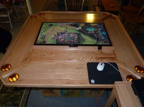 Gaming Table by A Custom Gaming Table