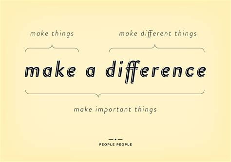 with a difference make a difference quotes quotesgram