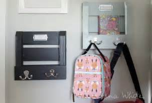 Back to school sized to hold folder or homework hooks for backpack and