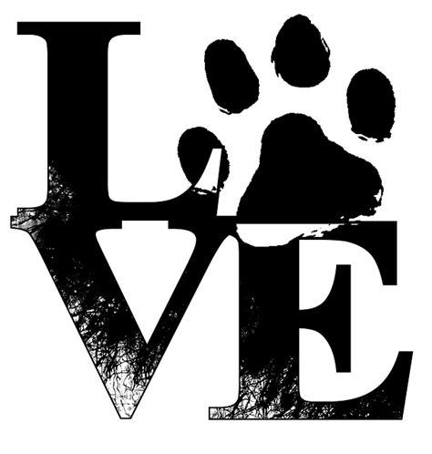 love dogs paw print  image  pixabay