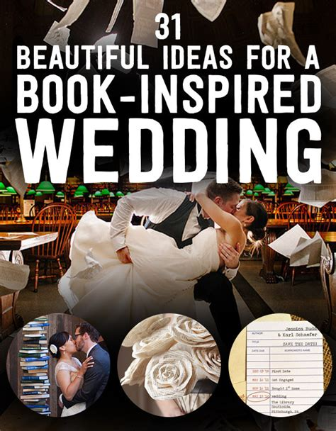 Book Titled Room 31 Beautiful Ideas For A Book Inspired Wedding Themed