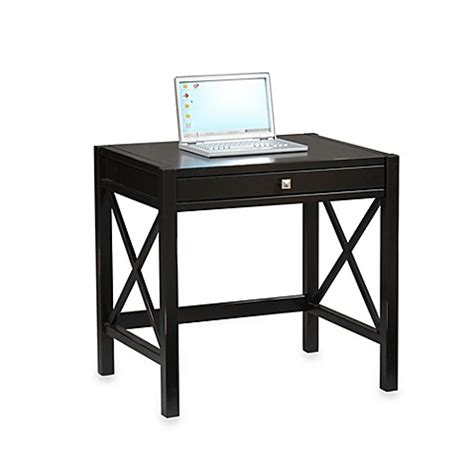 bed bath and beyond desk buy laptop desk in antique black from bed bath beyond
