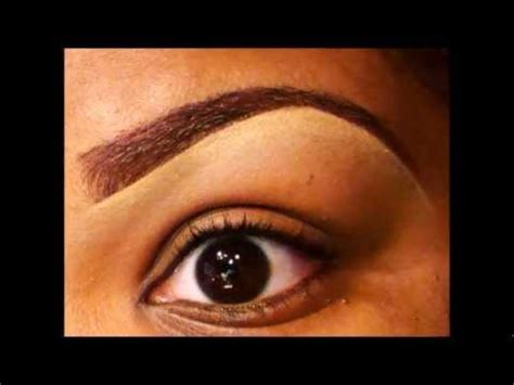 tint your brows updated eyebrow tutorial youtube