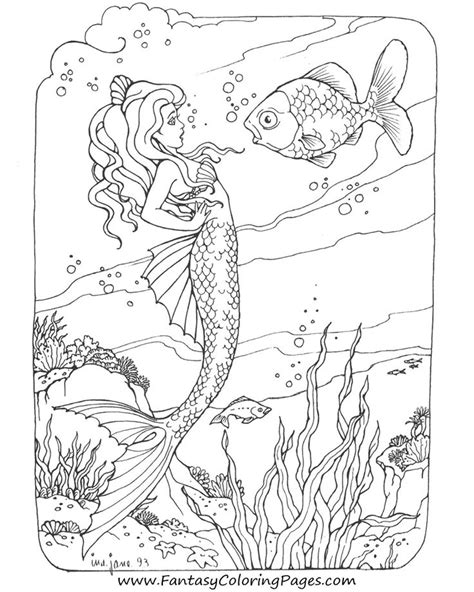 enchanted designs fairy mermaid blog free mermaid awesome coloring pages mermaids fairies ensign exle