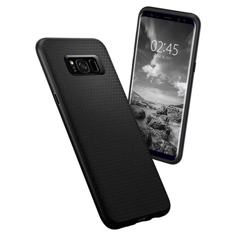 Spigen Air Skin For Galaxy S8 Black Berkualitas k 246 p spigen galaxy s8 liquid air black