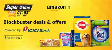 Amazon Gift Card Sales Locations - amazon in monthly grocery sale up to rs 900 amazon gift card free at super value store