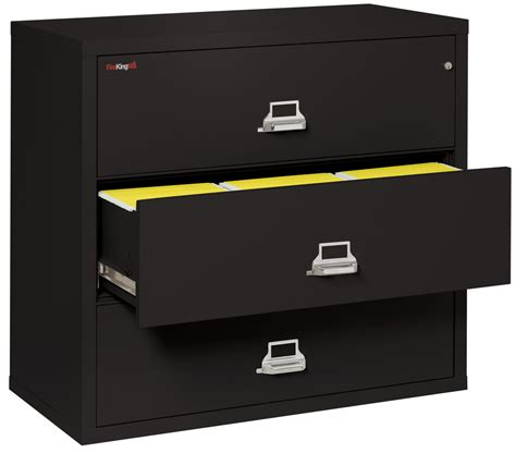Fireproof Lateral File Cabinet Fireproof Fireking 3 Drawer Lateral 44 Quot Wide File Cabinet New Items Templates