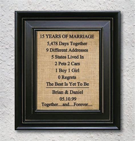 15 year anniversary gift ideas best 20 15 year wedding anniversary ideas on