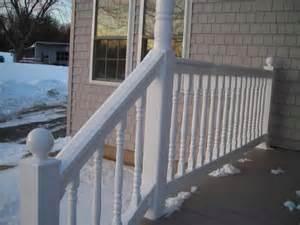 Vinyl Handrail Vinyl Deck Stair Railings