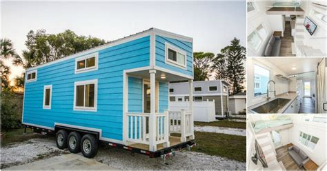 tiny homes florida rent the adorable blue oasis beach house in sarasota