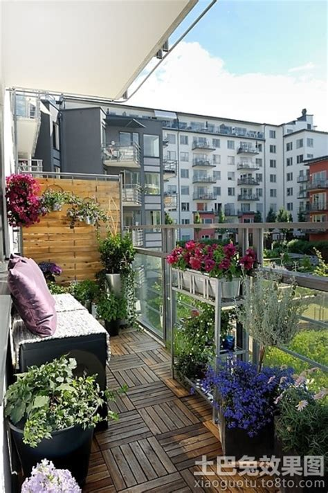 winter balcony garden 高层入户花园装修效果图 土巴兔装修效果图