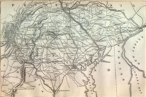 gettysburg map gettysburg map