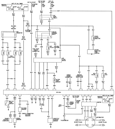 1986 toyota wiring diagram 1986 free engine image for