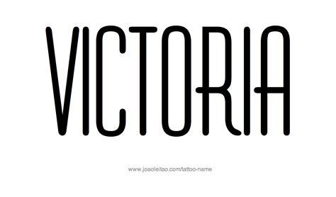 victoria name tattoo design name designs