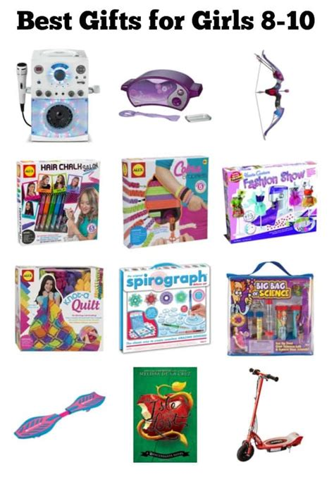 best gifts for girls aged 10 best gifts for 8 10 year