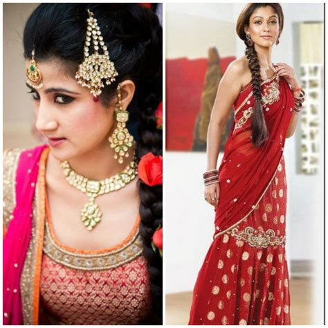 indian wedding hairstyles for shoulder various indian hairstyle of medium length for weddings