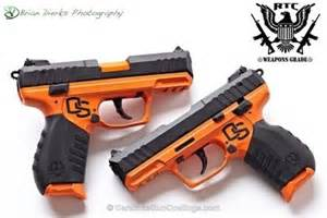 colored handguns ruger sr22 oregon state themed cerakote cerakote ideas