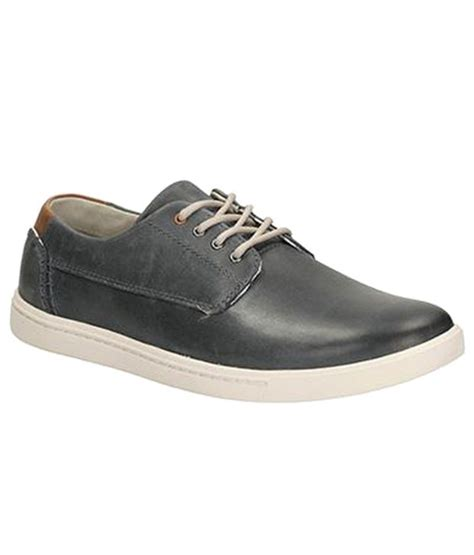clarks trendy black casual shoes price in india buy