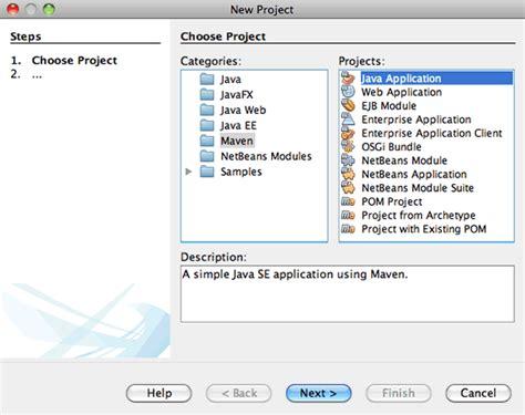 tutorial java se netbeans como hago para crear una aplicaci 243 n maven swing usando