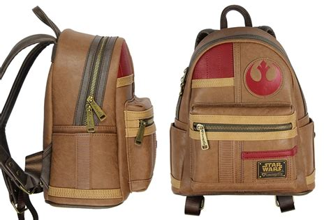 loungefly finn mini backpack and wallet the kessel runway