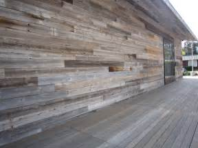 Reclaimed Shiplap Cladding Reclaimed Weathered Wood Siding Materials And Finishes