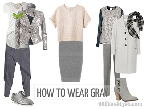 what colour goes with grey clothes how to wear gray choose color combinations and ensembles